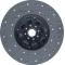 Диск ведомый муфты сцепления  Т-150 (с асбестовой накладкой)